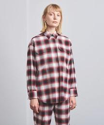 UGMSC 格紋 2口袋 襯衫