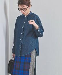 UWSC 褶邊 丹寧襯衫 日本製
