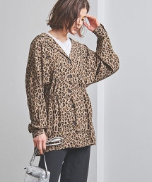 特別訂製<FILL THE BILL>豹紋探險襯衫