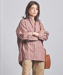 <TICCA>直條紋 寬版襯衫 日本製
