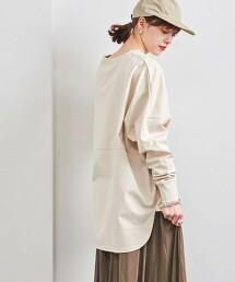 <WEB限定>UWSC 微裏毛 長袖套頭上衣 日本製