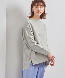 <WEB限定>UWSC 素色長袖T恤 日本製