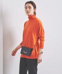 UWSC W/PE 寬版高領針織衫