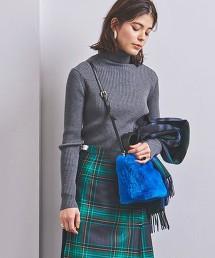 UWSC W/PE 羅紋 高領針織衫†