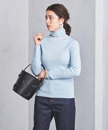 UWSC 寬版羅紋高領毛衣