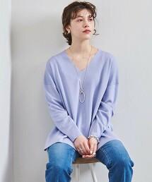 UBC 米蘭羅紋 V領針織衫