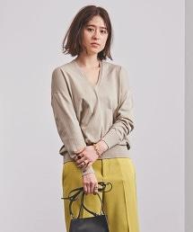 UWCB CO/RY 後身寬鬆 V領針織衫