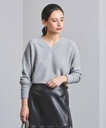 UBCS 纖維結粒 V領 針織毛衣† 日本製