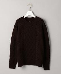 特別訂製商品<BATONER>麻花編織針織毛衣