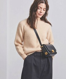 <BATONER> M/W 圓領針織毛衣 日本製