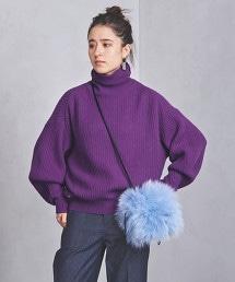 UWSC 蓬鬆袖高領毛衣
