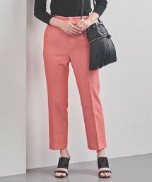 UBC 春季色系 平織 修身長褲