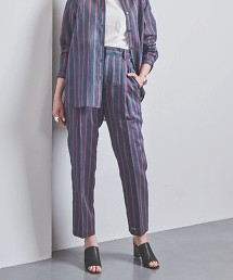 UGCB 直條紋 打摺 錐形褲 日本製
