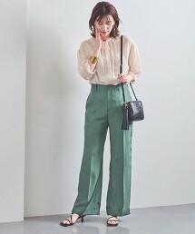 UBCC 車縫線 直筒褲 日本製