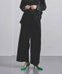 <UNITED ARROWS>PE 絨面 輕便褲 G 日本製