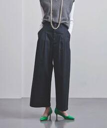 <UNITED ARROWS>C 2摺 寬褲 G 日本製