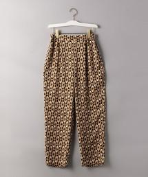 UBCB 幾何學印花 錐形褲 日本製
