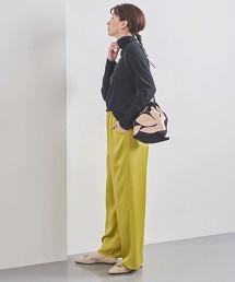 UWFM TA/P 色丁布 寬褲 日本製