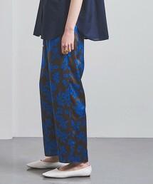 UWCC 樹葉花朵圖案輕便褲 日本製