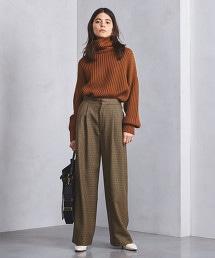 UGMSC 格紋寬褲
