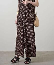 UBC P 印花 鬆緊帶 輕便褲 日本製