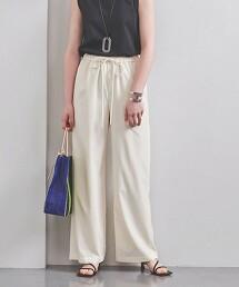 UBC R/P 抽繩 直筒褲 WHITE 日本製