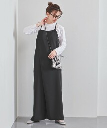 UWSC 一片式 吊帶褲 日本製