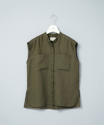 【台灣限定】TWSP UBC LINEN 2POC N/SL/亞麻2口袋無袖背心