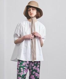 UGCMD 泡泡袖 無領 罩衫 日本製