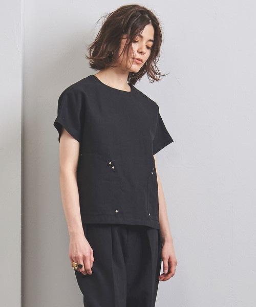 UGCB LI 2口袋 圓領罩衫