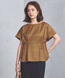 【Domani 特別訂製】UBCB P/R 斜紋織 雙皺褶 套頭衫
