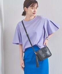 UBC 開衩 荷葉袖 罩衫 日本製
