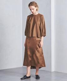 <SACRA>細褶袖罩衫