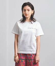 <A VACATION>PRINT TEE-united LOVE project 2021† 日本製