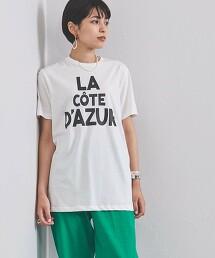 特別訂製<m's braque>COTE DAZUR T恤 日本製