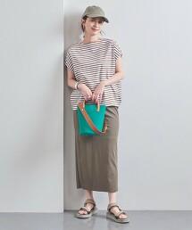 <WEB限定>UWSC 橫條紋 法國袖 T恤 日本製