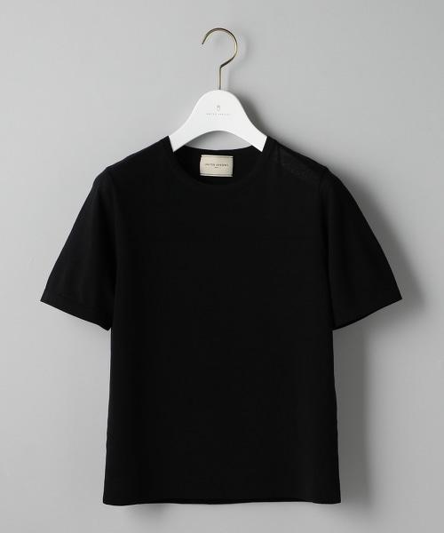 UBCS FULL/N 異材質 短袖 針織上衣