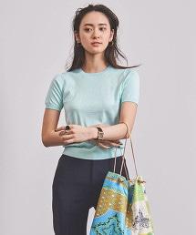 UBCB CO/SI 圓領短袖針織衫