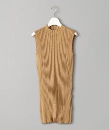 UWCB 羅紋 高領 無袖 針織上衣