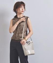 UBCB 蟒紋異材質拼接針織衫
