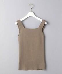 UBCB 方形領口 羅紋 吊帶衫