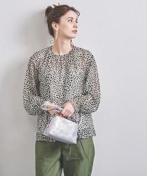 UWCS 豹紋蓬鬆袖套衫