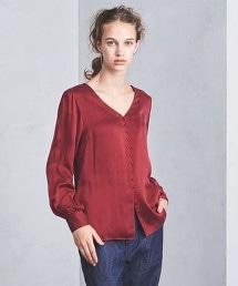 UGCS 絲綢 V領襯衫