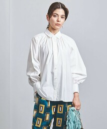 UWSC 抽褶 蓬鬆袖襯衫 † 日本製