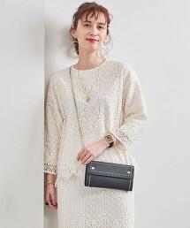 UBC 拉舍爾蕾絲 罩衫 日本製