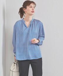 UBC 幾何學 開襟領罩衫 日本製