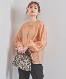 UBC 抽褶 蓬鬆袖 罩衫 日本製