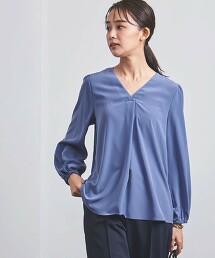 <UNITED ARROWS>P 泡泡袖 V領罩衫 B 日本製