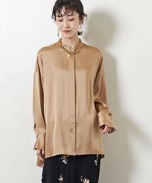 <SACRA>STN 立領 罩衫 日本製