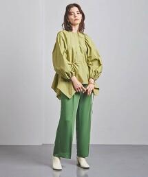 特別訂製<FLICKA>不規則下擺 罩衫 日本製